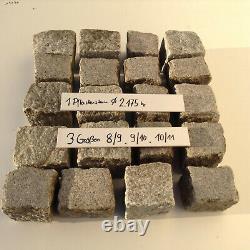 1,2 T Granite 8/11 Paving Stones 150 / T Natural Stone Dressings Cobblestones