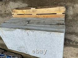 28.8m2 silver grey granite paving 600x600mm