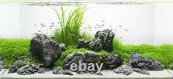 Aquarium Stone Seiryu Rock Natural Fish Tank Decoration GREY MOUNTAIN 25kg Set