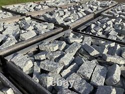 Beautiful Grey Granite Setts 25 Tonne 200 x 100 x 40-60mm Cobbles Driveway Setts