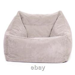 Cord Bean Bag Armchair Adults Gaming Chair Giant Jumbo Cord Beanbag Icon