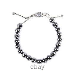 DAVID YURMAN Women's Hematite Spiritual Bead Bracelet NEW