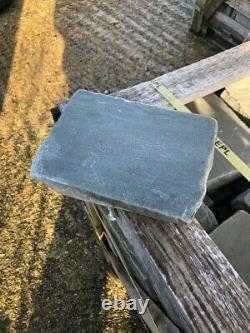 EM Tudor Silver Grey Tumbled Natural Sandstone Paving 200x200x34-45mm