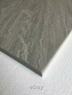 Fireplace Hearth 90cm x 60cm Natural Grey Sandstone Cut to Size Option
