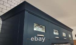 Fitzroy Painted Stone (Second Nature) Kitchen units & doors Rigid Built