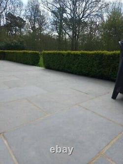 Grey Limestone Tiles (TUMBLED) Size 600 x 900 x 22mm