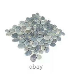 Grey Tiles Natural River rock Stones 30x30cm X 11