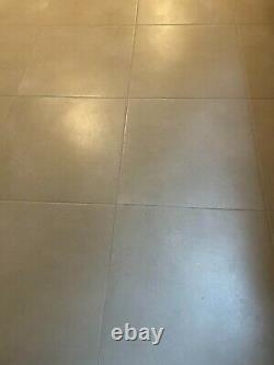 H&R Johnson Derwent 600 x 600 Stone Grey Natural Porcelain Floor Tile. 37 sqm