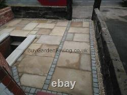 Kandla Grey Natural Indian Sandstone Cobble Setts 100x100 Nationwide