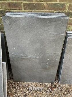 Limestone Tiles 20m2 Jorvick Grey Antiqued from Natural Stone Online