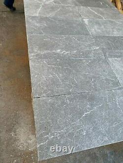 Marble Tiles, Reclaimed Grey Marble Tile, Floor / Wall, Natural Stone Limestone