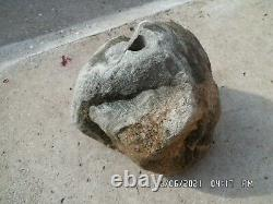 Natural Boulder Stone Drilled for Garden water feature Etc