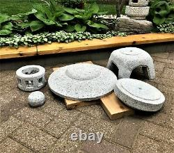 Natural Granite Hand-cut Japanese Lantern-Yukimi D45CM (Sold Out)