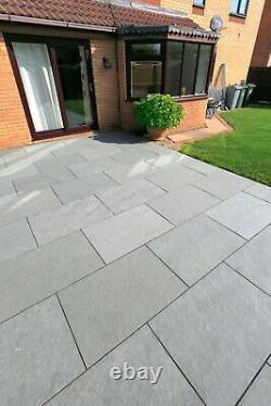 Natural Stone Paving Blue Limestone 90cm x 60cm Amazing Quality