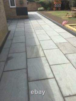 Natural Stone Paving Kandla Grey 90cm x 60cm Amazing Quality