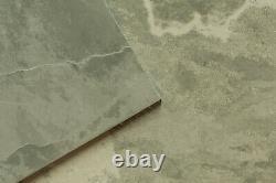 Premium Brazilian Grey-Green Slate Paving Slabs Natural Paver Garden Patio Stone