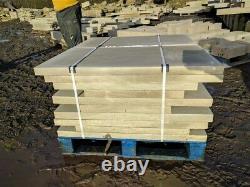 Premium Sawn Paving 50mm thick Range of sizes Ashlar Yorkshire Yorkstone