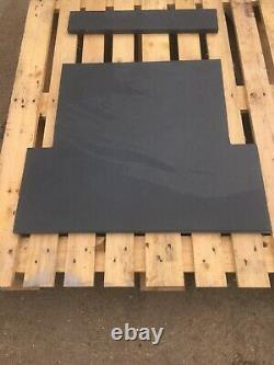 Slate Fireplace Hearth Blue-Black or Grey 90cm x 60cm 100% Natural Stone