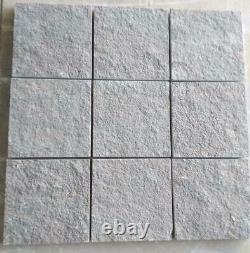 South Indian Sea Grey Limestone Slabs Garden Natural Paving Patio Sawn Tiles New
