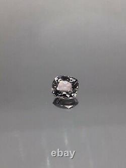 Spinel Deep Grey 1.45 CRT untreated Burmese natural gemstone V. V. S Great Colour