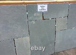 18.5m2 Grès Indien Naturel Pavage Kandla Grey Dalles De Patio 22mm Calibré