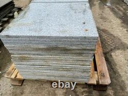 28,8m2 Argent Gris Granit Pavage 600x600mm