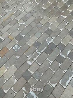 Bloc Pavage Cottage Gris Multi Natural Stone Setts (3 1/2 Packs) Circa 33/35m2