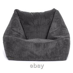 Cord Bean Sac Fauteuil Adultes Gaming Chaise Giant Jumbo Cord Beanbag Icon