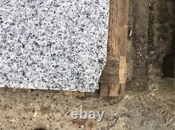 Établissement De Grandes Étapes Granites Solides, Paving 4 X 800x800x50 Flamed Finis