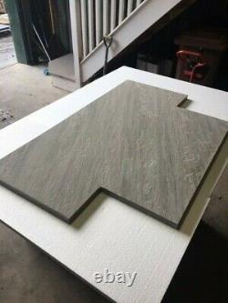 Foyer Foyer 120cm X 60cm Natural Grey Sandstone Cut To Size Option