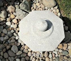 Granit Naturel Coupe À La Main Lanterne Japonaise-senny-ji D45cm
