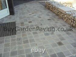 Kandla Grey Cobble Setts Natural 100x100 Driveway Outdoor Paving Packs