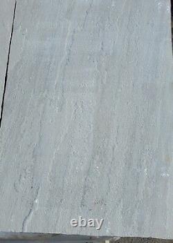 Kandla Grey Paving Slabs 900x600 Pierre Naturelle Indienne 22mm 18m2 Pas Patio Pack