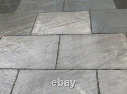 Kandla Grey Sandstone Indian Slabs 900 X 600 15 Pack 8,1m2