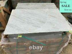 Kandla Grey Sandstone Pavage Natural Indian Patio Dalles 22mm Calibré 600x900