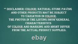 South Indian Lime Grey Stone Paving Doux Sols Intérieurs Carreaux 500xfl 16.25m2