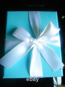 Tiffany & Co 18k Rose Or Gris Moonstone 8mm Bague De Perles 6